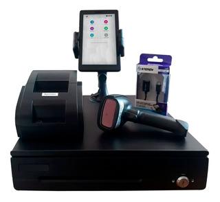 Punto De Venta + Lector + Tablet 7p + Impresora 58mm + Cajón