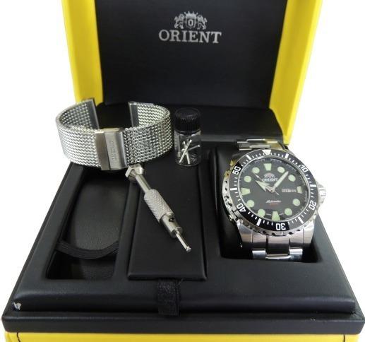 Relógio Orient Automático Diver Netuno 469ss073 P1sx Nfe