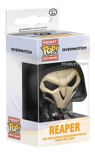 Llavero Funko Overwatch Original Pocket Pop Scarlet Kids
