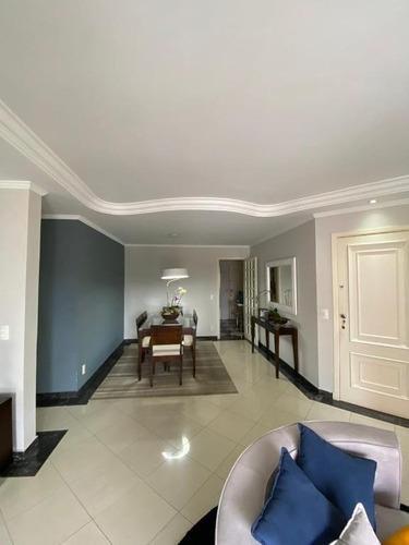Apartamento Com 3 Dormitórios À Venda, 130 M² Por R$ 1.000.000 - Tatuapé - São Paulo/sp - Ap6688