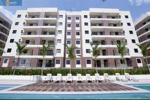 Apartamento Planejado Para Venda Em Condomínio Fechado/carapicuiba - Gv20704