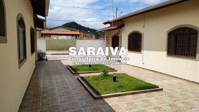Casa 2 Dormitórios Martim De Sá, 700m Da Praia - 924