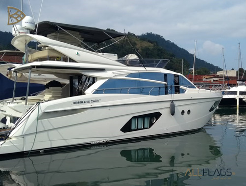 Absolut 52 Fly - C697 (absolut, Fly, 52 Pés, Barcos,lanchas)