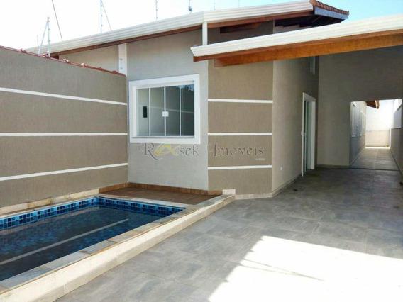 Casa Nova, Lado Praia E Piscina Com Cascata - Cod: 133 - V133