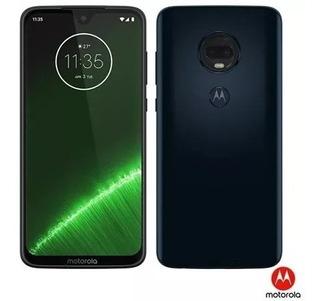 Motorola Moto G7 Plus Azul Indigo 6.2 64gb Novo Lacrado