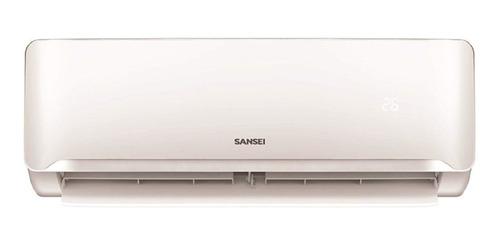 Imagen 1 de 1 de Aire acondicionado Sansei split frío/calor 3350W blanco 220V SAS32HA3AN