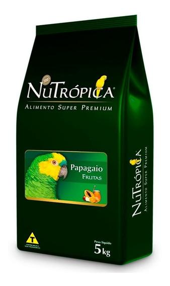 Ração Nutrópica Com Frutas Para Papagaios - 5kg