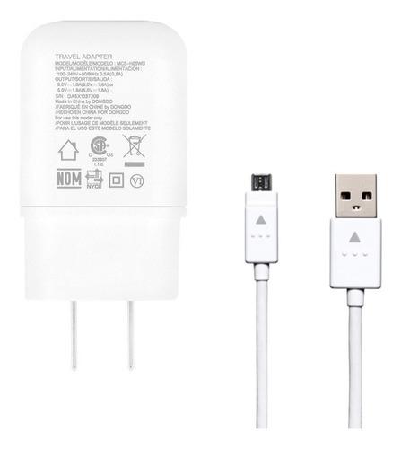 Ac Cargador LG Carga Rapida Micro Usb V8 Mcs-h05wd Original E/g