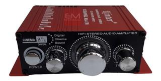 Amplificador Potencia Audio Hifi 12v Sonido Moto