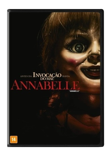 Dvd - Anabelle - Semi Novo - Original