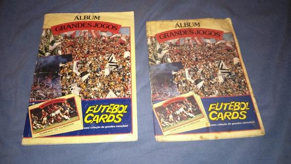Album Futebol Cards Grandes Jogos Ping Pong- A E B Completos