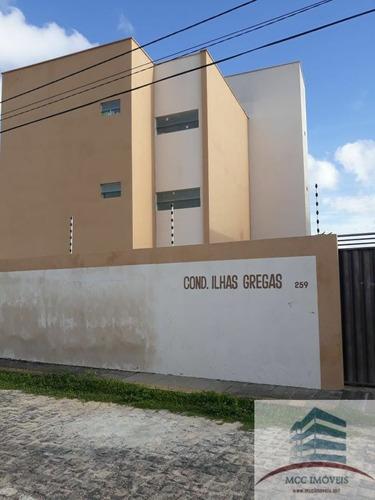 Apartamento Novo A Venda Ilhas Gregas, Nova Esperança, Parna