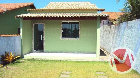 Casa Com 2 Dormitórios À Venda, 78 M² Por R$ 255.000,00 - Cordeirinho (ponta Negra) - Maricá/rj - Ca0104