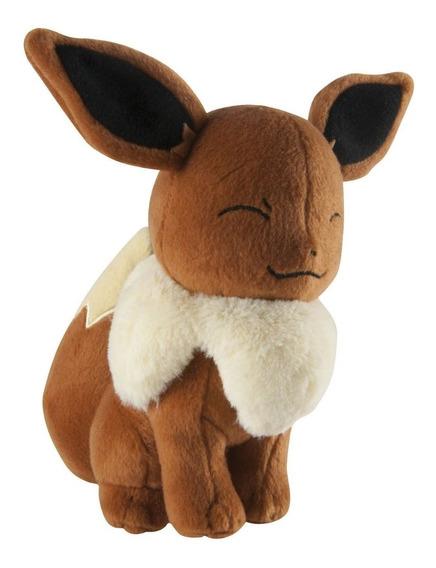 Pokémon Eevee Figura 8 Pulgadas Tomy Original