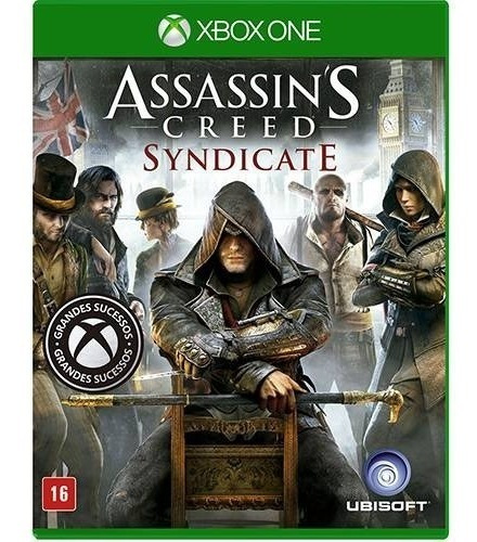 Game Assassins Creed Syndicate - Xbox One - Mídia Física