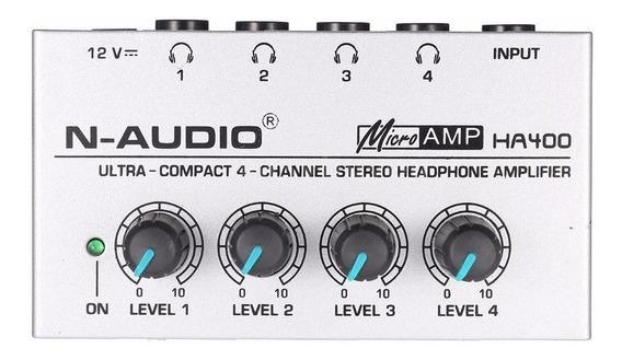 Amplificador De Fones Microamp Ha400 Retorno 4 Canais O3