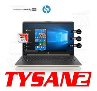 Notebook Hp Amd A9 9425 12g 1tb Ñ 15.6 En Stock Ya!!!!