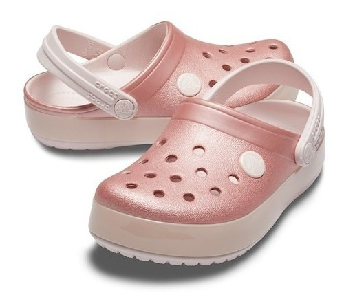 Crocs Crocband Kids Ice Pop Barely Pink Frete Gratis