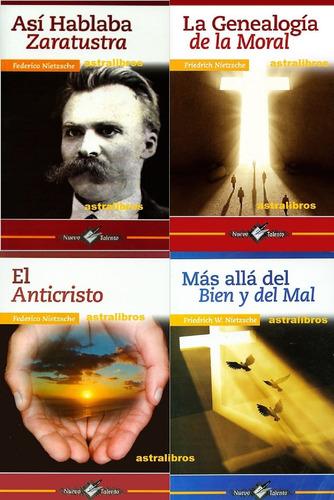 Imagen 1 de 10 de Paquete 4 Nietzsche Zaratustra Genealogía Moral Nacimiento T