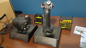 Saitek Pro Hotas X65f Controle Completo