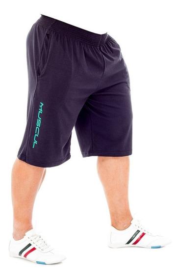 Bermuda De Algodon Estilo Corte Americano Shorts Crossfit
