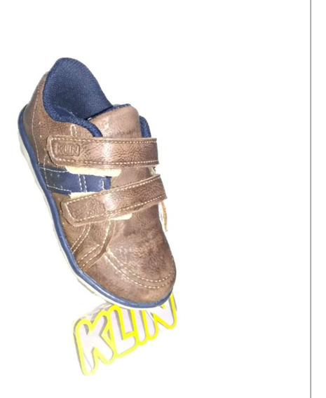 Tênis Klin Infantil Cravinho Casual Whisky/ma 166.060000-001