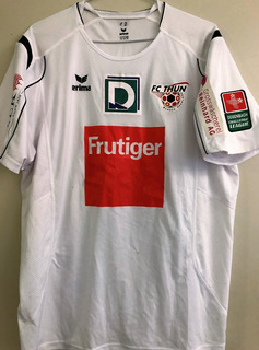 Camisa F. C. Thun Da Suiça Usada Em Jogo Sandro #12