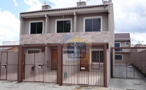 Sobrado Com 2 Dormitórios À Venda, 58 M² Por R$ 515.000,00 - Fazendinha - Curitiba/pr - So0290