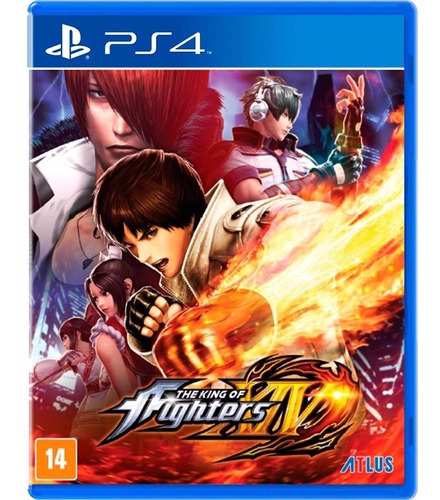 The King Of Fighters Xiv - Ps4 - Novo - Mídia Física Lacrado
