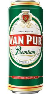 Cerveza Importada Van Pur Polonia Premium Lata 500 Ml