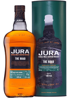 Whisky Jura The Road Single Malt Botella De Litro Con Lata