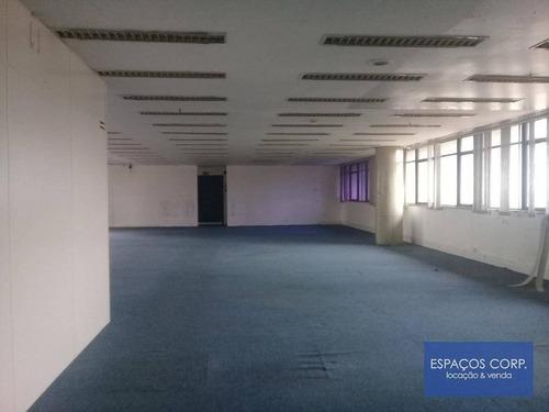 Laje Corporativa Para Locação, Com 572,76m² - Chácara Santo Antônio - São Paulo/sp - Lj0414