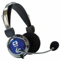 Fone De Ouvido Headset C3 Tech Gamer Pterodax Reembalado
