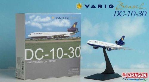 Maquete/miniatura Avião Dc-10-30 Varig Brasil 1:400