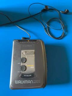 Walkman Sony, Con Casettera Y Fm/am Sony Para Reparar
