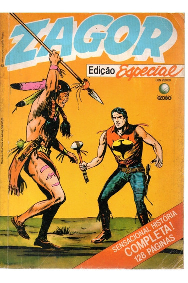 Zagor Edicao Especial - Globo - Cx413 E19
