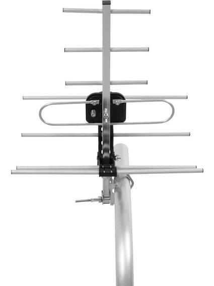 Antena Externa De Tv Intelbras Alumínio Com Suporte Ae 5010