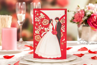 Parte Invitacion Matrimonio Novios Unico Exclusivo 2020 Foto