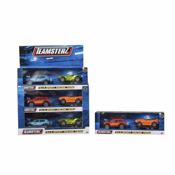 Auto Colección Partes Metal Teamsterz 4x4 Sport Racing Team
