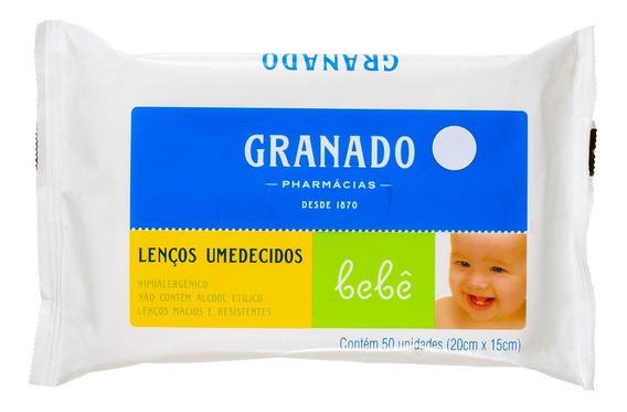 Granado Bebê Tradicional - Lenços De Limpeza (50 Un) Blz