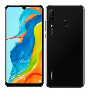 Huawei P30 Lite Midnight Black,6,15 128gb, 24mp - Mar-lx3a