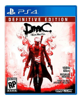 Dmc Devil May Cry Definitive Edition Ps4 Delivery Stock Ya