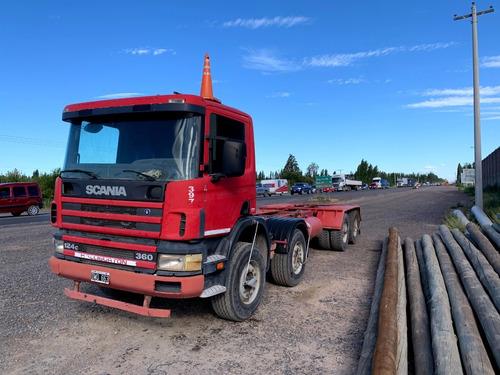Scania P124 360 8x4 Chasis Largo