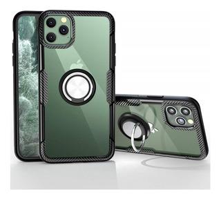 Estuche Antichoque Clear Ring Armor iPhone 11 Pro Pro Max