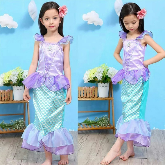 Disfraz Princesas Sirenita Ariel