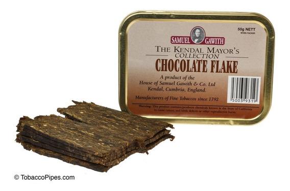 Tabaco Pipa Chocolate Flake Samuel Gawith Lata Tabacos Pipas
