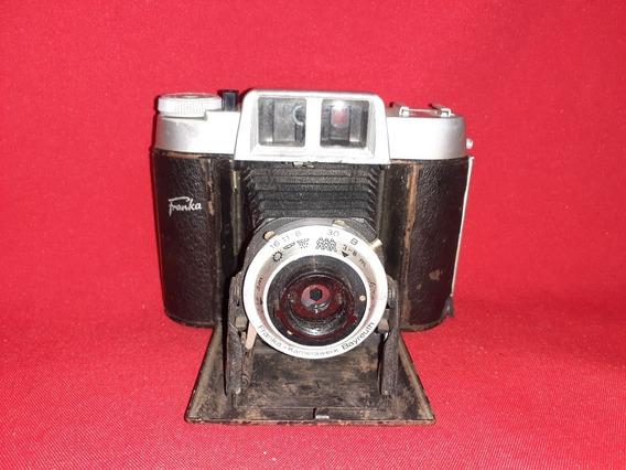 Antiga Câmera De Fole Franka Solid Record