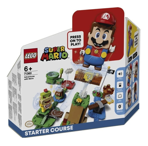 Imagem 1 de 7 de Lego Super Mario - Aventuras Com Mario Início 71360