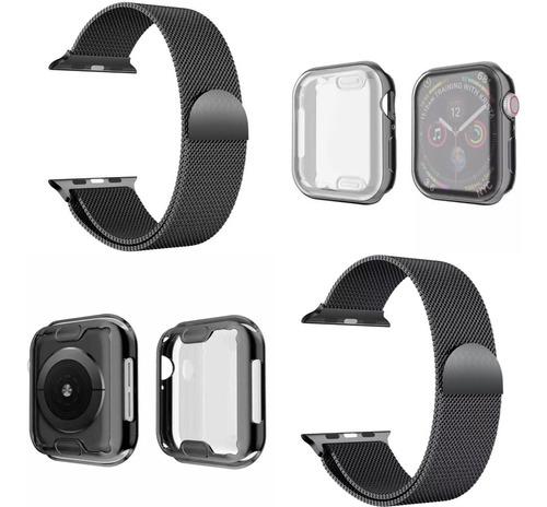 Protector De Pantalla +pulso En Acero Compatible Apple Watch