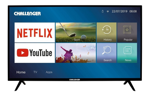 Televisor Challenger 40 Pulgadas Fhd 40ll49 Smart Tv